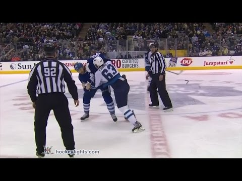 Daniel Winnik vs. Ben Chiarot
