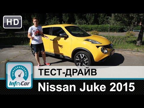 Nissan  Juke Хетчбек класса B - тест-драйв 1