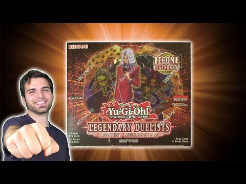 *NEW* YuGiOh Legendary Duelist Ancient Millennium Box Opening & Review! MARCH MADNESS!!