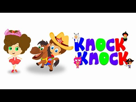 Knock Knock, Trick Or Treat? | Halloween Song For Tiny Tots With Tim & Tia