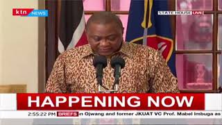 President Uhuru: We have discharged 301 individuals having recovered and 481 currently being treated