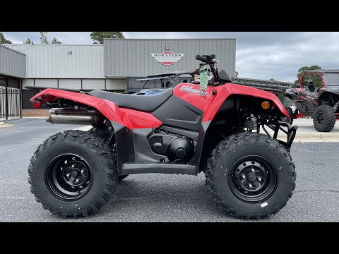 2022 Suzuki KingQuad 400ASi in Greenville, North Carolina - Video 1