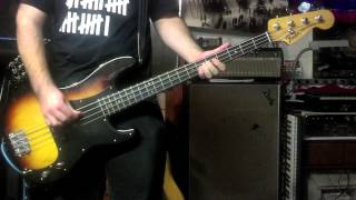 Anti-Flag-Stars And Stripes (Bass Cover)