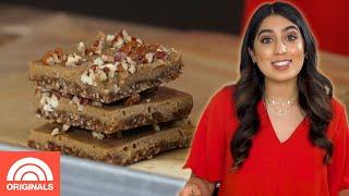 No Bake Gluten-Free, Vegan Pecan Pie Bars | #COOKING | TODAY Originals
