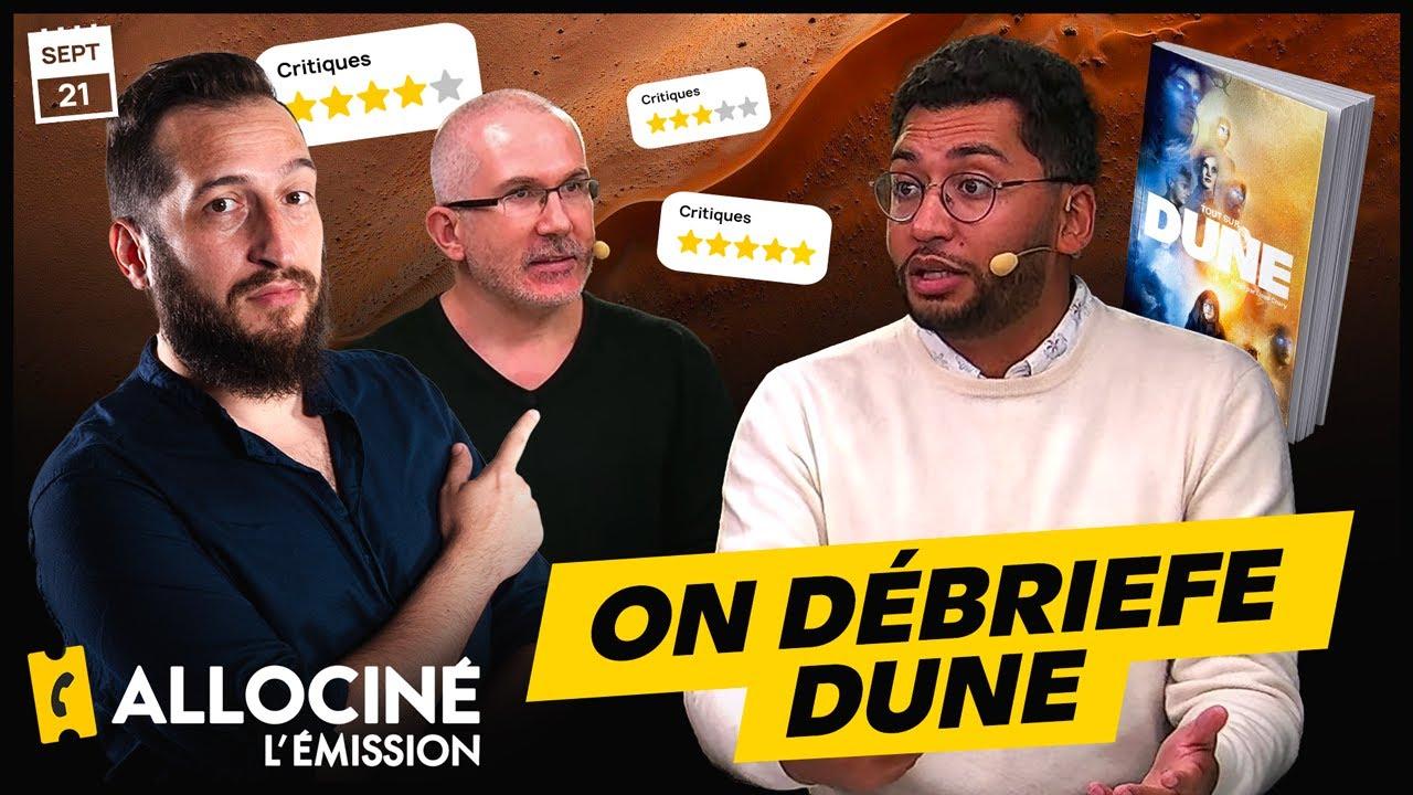 Gros débrief du film Dune avec un spécialiste  | ALLOCINÉ L'ÉMISSION #68