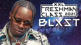 Blxst's 2021 XXL Freshman Freestyle