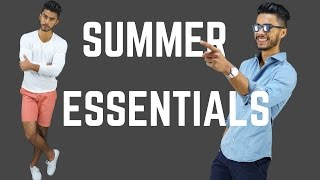 7 Mens Summer Essentials | Style Must Haves To Stay Cool & Stylish!