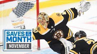 Best Saves of November | 2019-20 NHL Season