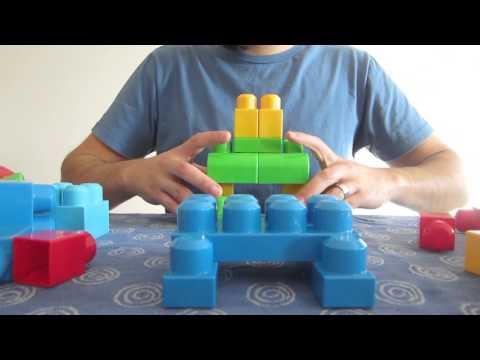 BUILDING Mega Bloks - First Builders - 60 pcs big bag!