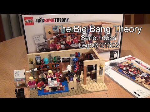 Test The Big Bang Theory (Lego Set 21302 Ideas Review)