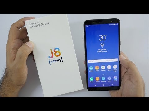 Samsung Galaxy J8 Unboxing & Overview with Camera Samples