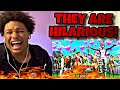 THESE KIDS ARE HILARIOUS! | Fe4RLess - Playing fortnite with my subscribers....lol (REACTION)