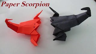 Origami Scorpion - How To Make An Easy Origami Scorpion