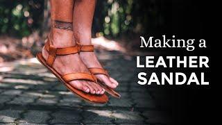 Making Leather Sandals / Teva Original Sandals Inspired ⧼Week 36/52⧽