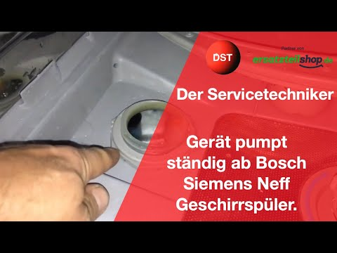 Bosch Siemens Constructa Geschirrspüler nimmt kein Wasser