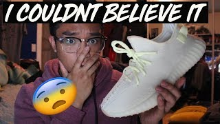 MY FIRST TIME... | YEEZY 350 BUTTER V2 REVIEW | CHEST DAY