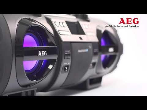 AEG - SR 4360 - Stereo rádio s bluetooth