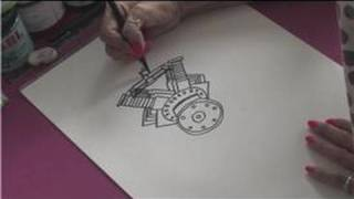 How to Draw Cars : How to Draw a Car Engine