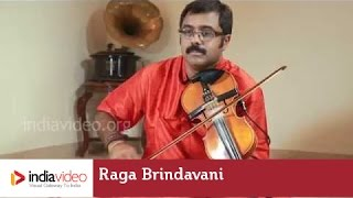 Raga Series - Raga Brindavani on Violin by Jayadevan