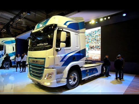 DAF CF FULLY ELECTRIC INNOVATION TRACTOR TRUCK VDL E-POWER