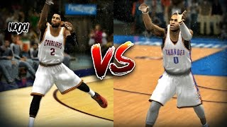 Kyrie Irving vs Russell Westbrook - Half Court Challenge