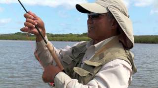preview picture of video 'HGF301 Clay Ching, fly fishing, part 2'