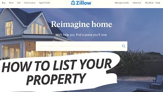 How to list Property for Sale on Zillow.com (FSBO) For Sale by Owner