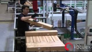 Depalletizing - at a Picking Station in a Distribution Center - using Vaculex TP
