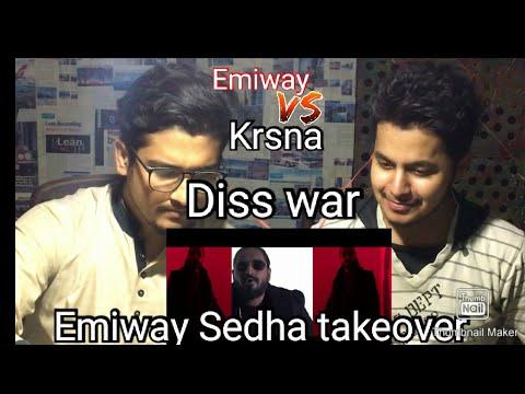 Pakistani reacts to EMIWAY - SEEDHA TAKEOVER (Prod.Flamboy)