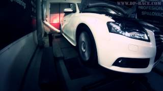 Audi A4 2.0TDI 143PS to 208PS @ 417Nm DIESELPOWER dyno tuning: www.dp-race.com