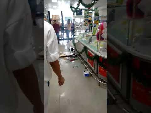 Supermercado é alvo de arrastão no Alecrim