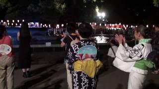 日本チャチャチャ・盆踊り 2009年版(日比谷公園・大盆踊り大会 090821)