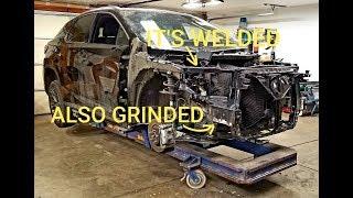 Rebuilding 2017 Lexus RX350 Fsport from Copart part 7