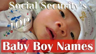 💙 TOP BABY BOY NAMES - SOCIAL SECURITY 2017 (2018) 10 MOST POPULAR NAMES - VOTE FOR YOUR FAVORITE👈