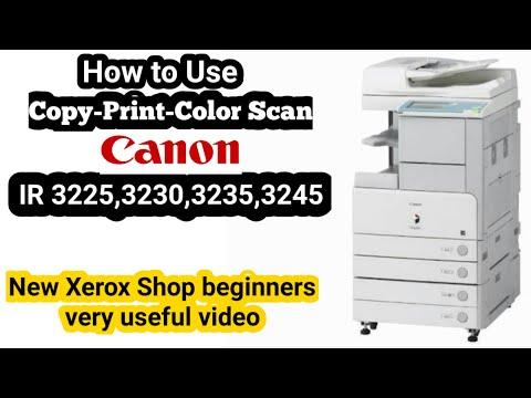 Canon IR 3235 Photocopier Machine