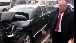 Машина стоимостью два миллиона рублей в хлам.