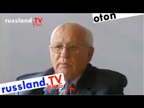 Gorbatschow zum Politkowskaja-Mord – [Video]
