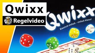 Qwixx - Regeln & Beispielrunde