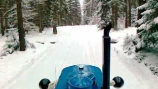 Zetor 50 super hrne sníh..