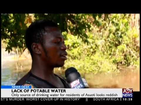 Lack Of Potable Water - News Desk on JoyNews (24-10-18)
