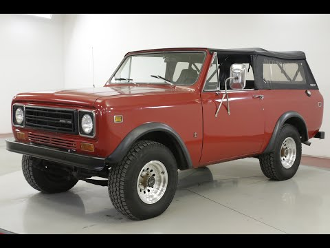 Video of '78 Scout - QW54