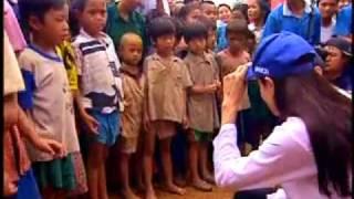Angelina Jolie UNHCR Goodwill Ambassador in Thailand
