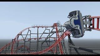 Burnout Onride POV - Nolimits Coaster 2