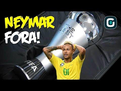 NEYMAR FORA do Prêmio de Melhor do Mundo da Fifa  a44f009643593
