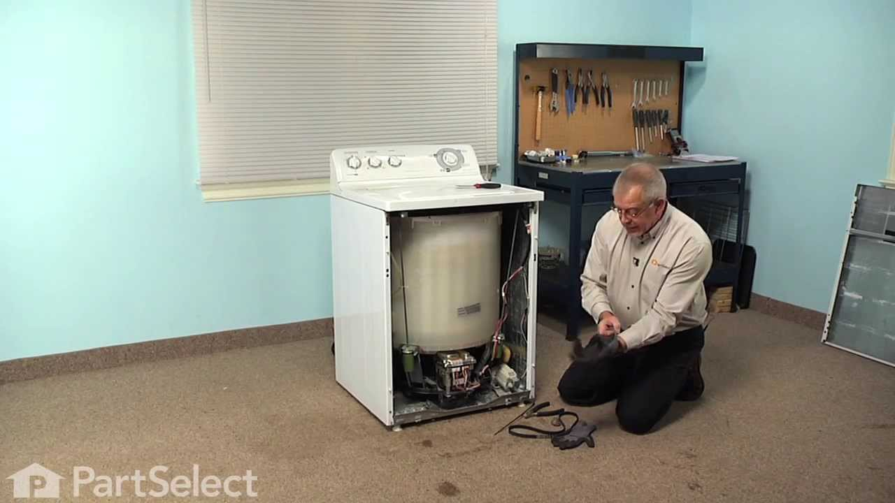 Replacing your General Electric Washer 6-Rib Drive Belt