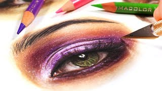 EASY TRICK FOR COLORED PENCIL DRAWINGS