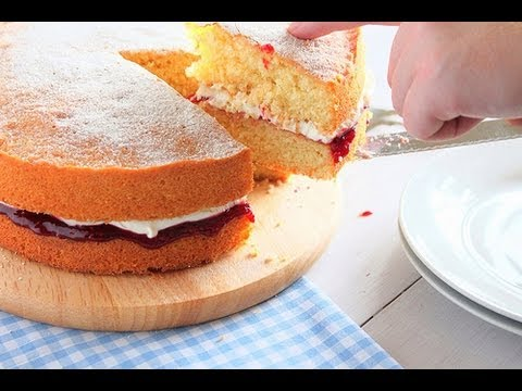 Video How to bake a Victoria Sponge - The Boy Who Bakes