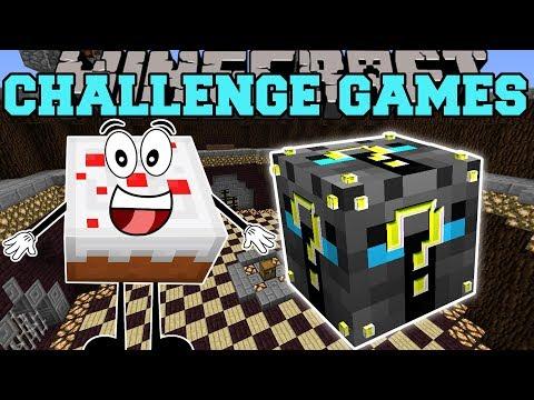 Minecraft: BIRTHDAY CAKE CHALLENGE GAMES - Lucky Block Mod - Modded Mini-Game