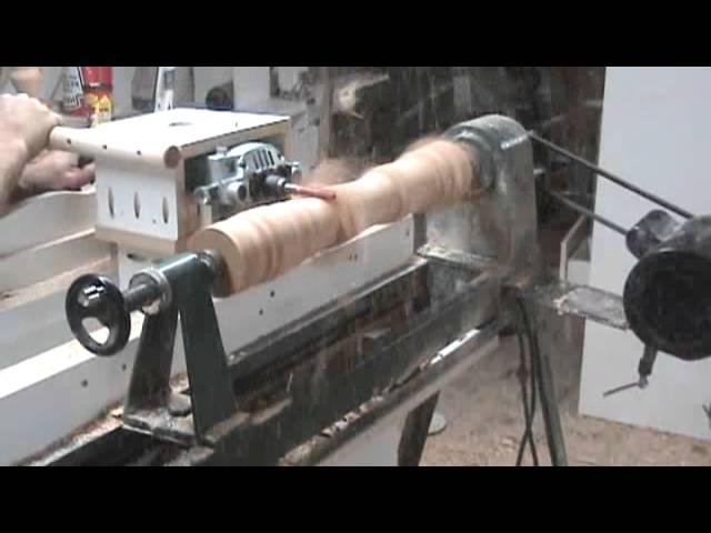 Crazy Router Lathe Video