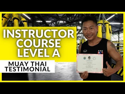 Level A Muay Thai Instructor course in Thailand - YouTube